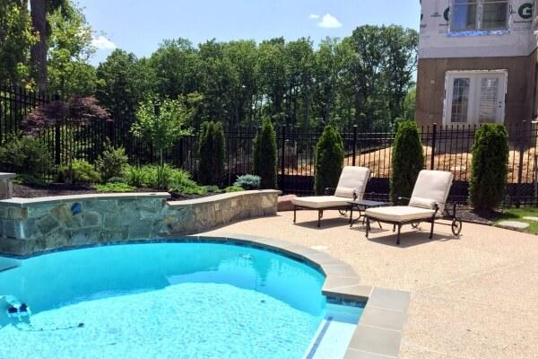 Home nova landscape design for Pool design northern virginia