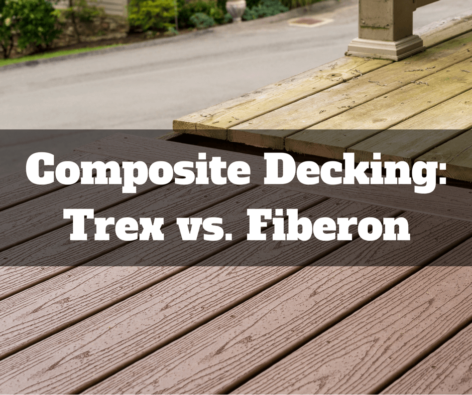 Composite Decking: Trex Vs. Fiberon